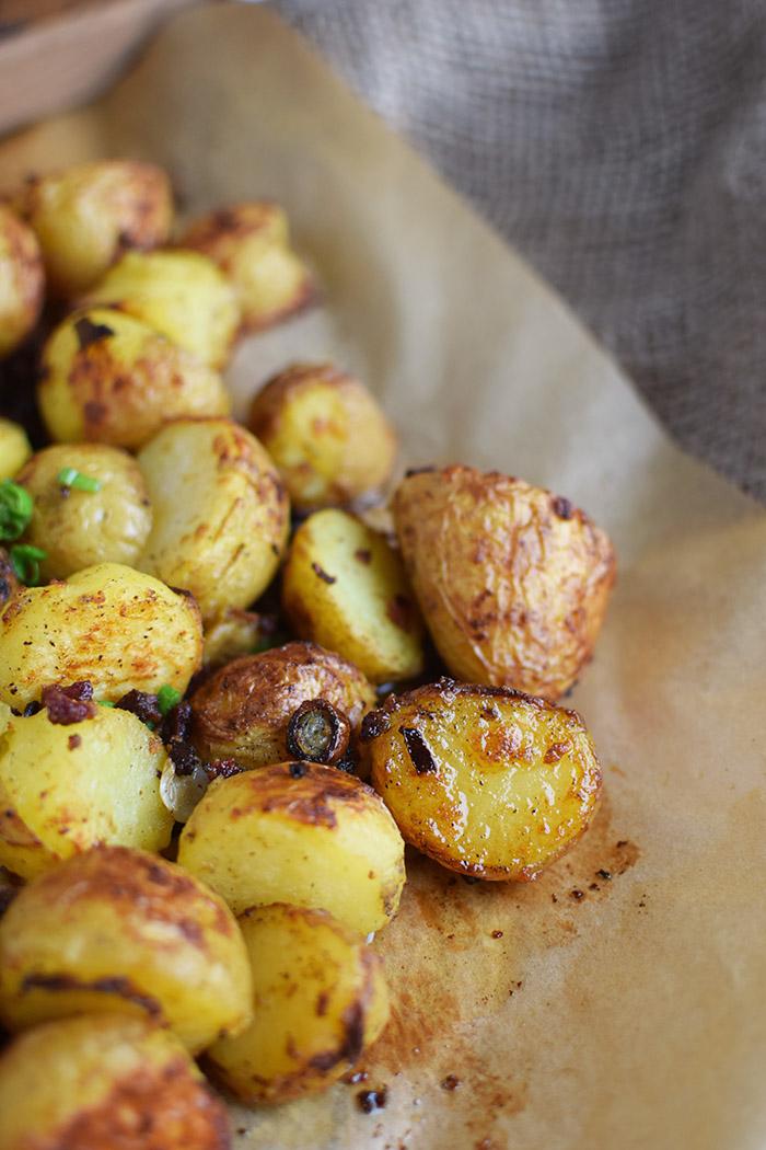 Gebackene Kartoffelhaelften mit Rosmarin - Baked Potato Skins with rosemary (8)