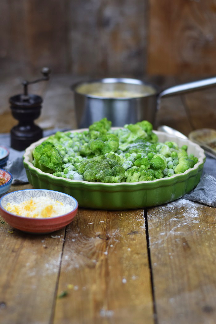 Knuspriger Brokkoli Auflauf - Broccoli Gratin with a crunchy crust (2)