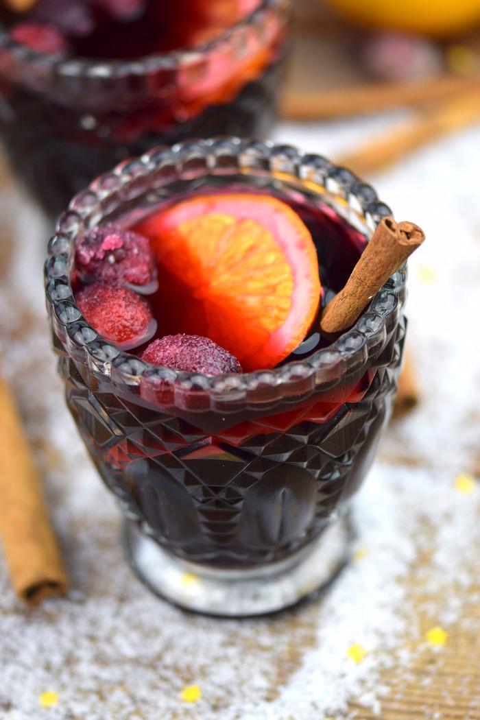 Alkoholfreier Punsch - Weighnachtstrunk - Weihnachtsgetränk (3)