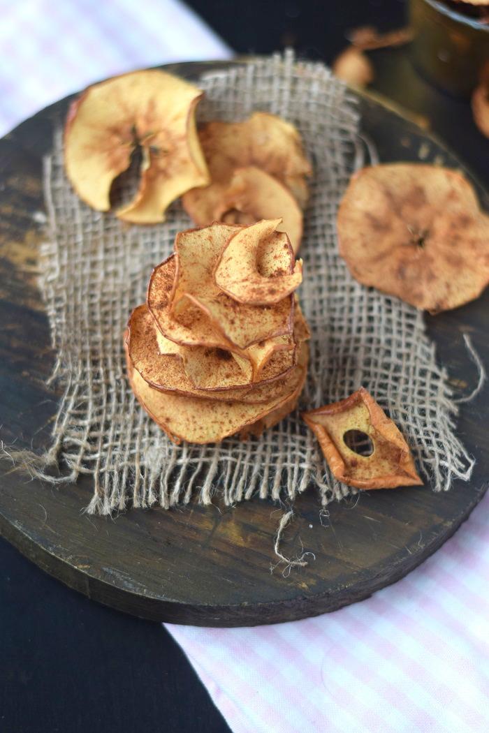 Bratapfel Chips - Baked Apple Chips (4)