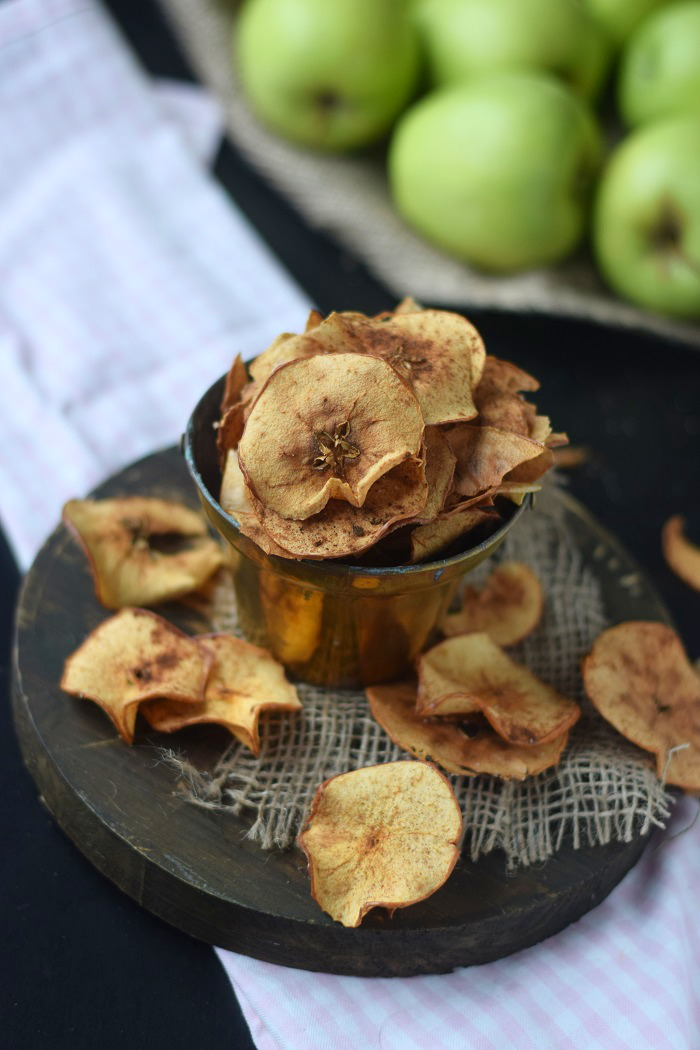 Bratapfel Chips - Baked Apple Chips (6)