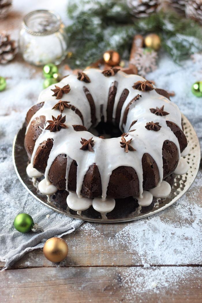 Gewürzkuchen mit Schokolade - Geschenk aus der Küche - Backmischung (2)