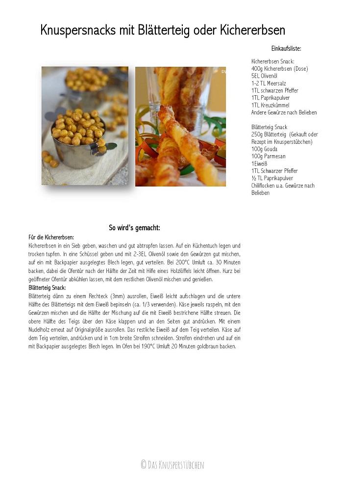 Knuspersnacks mit Blaetterteig oder Kichererbsen Rezept-001