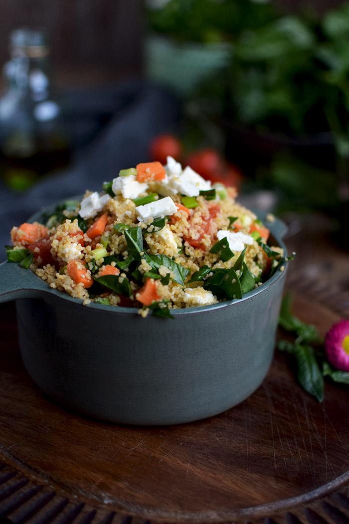 CousCous Salat - Couscous Salad (2)