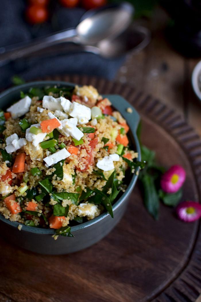 CousCous Salat - Couscous Salad (5)