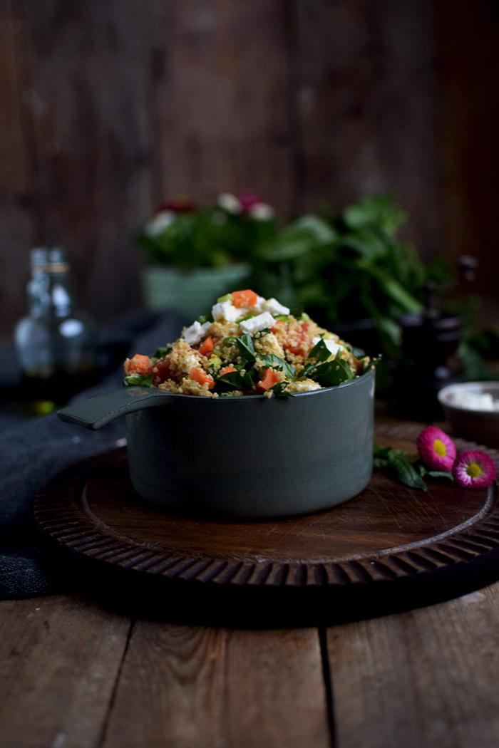 CousCous Salat - Couscous Salad (1)