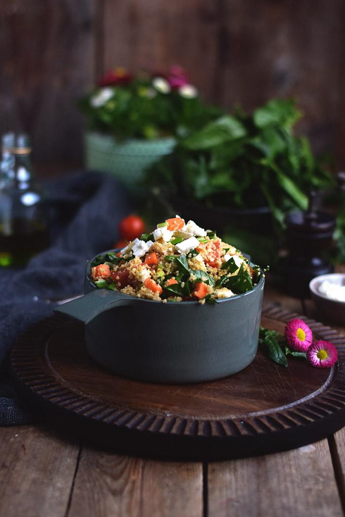 Couscous Salat - Couscous Salad
