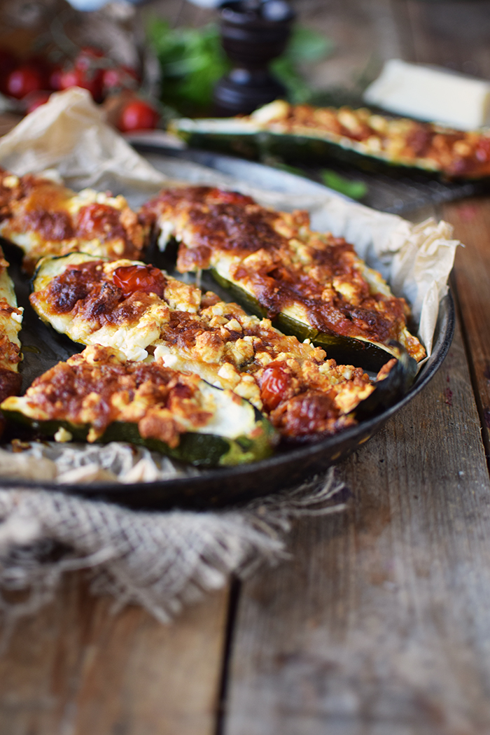 Gefuellte Zucchini _ Filled Courgette (17)