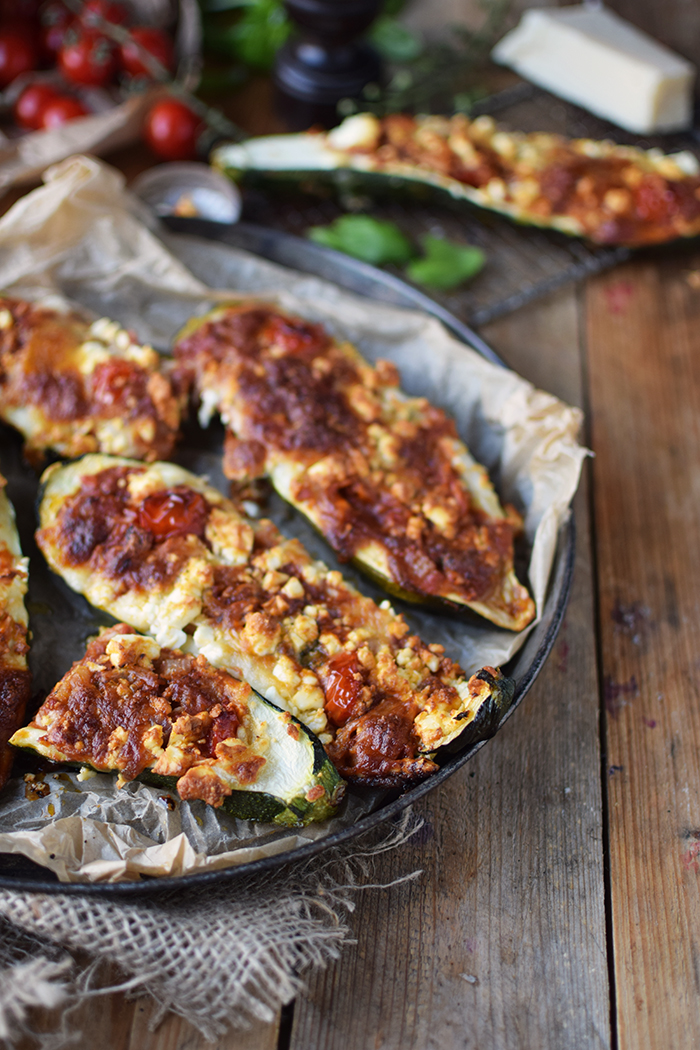 Gefuellte Zucchini _ Filled Courgette (6)