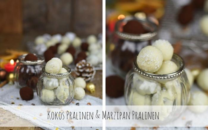Kokos Pralinen & Marzipan Pralinen zum Naschen und Verschenken
