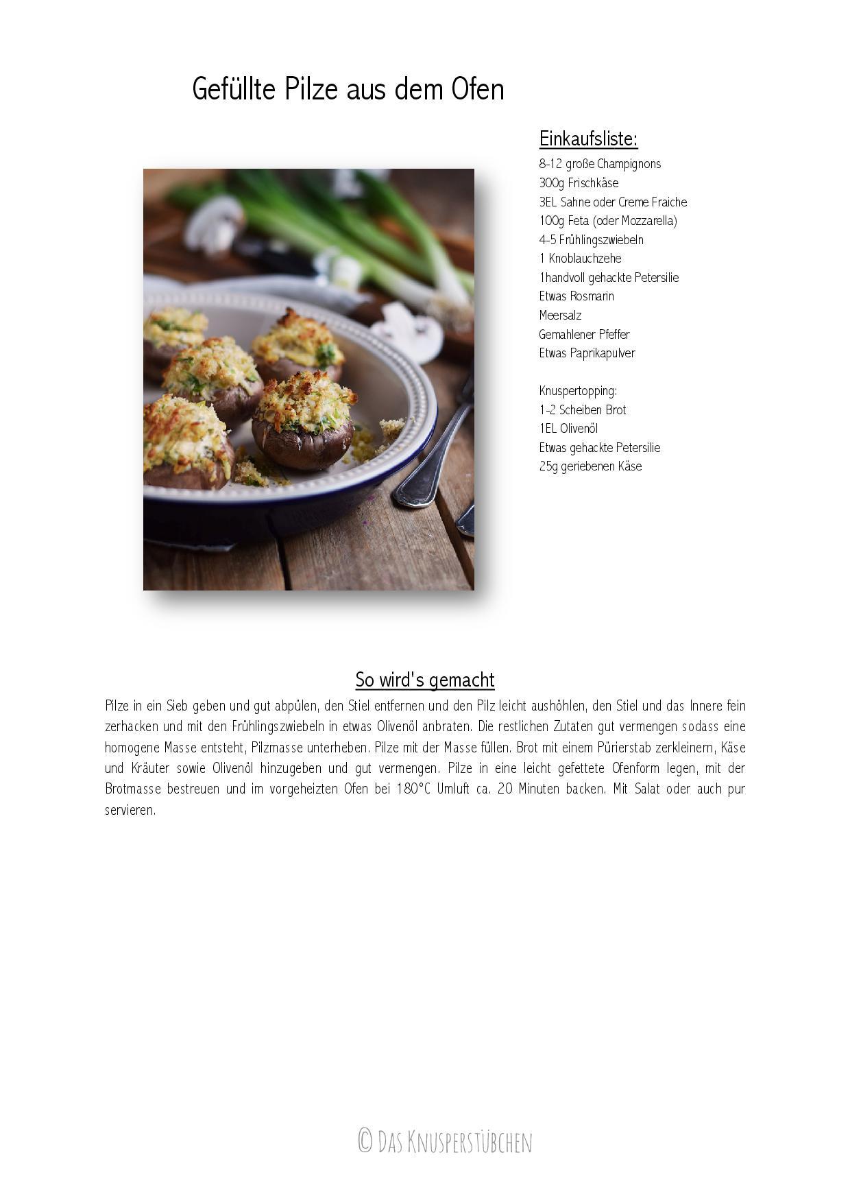 Gefuellte Pilze aus dem Ofen-001