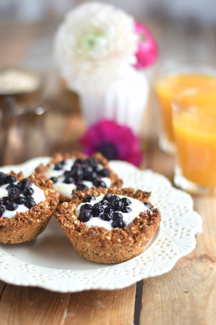 Granola Cups mit Joghurt - Granola Cups with yogurt and fruits (2)