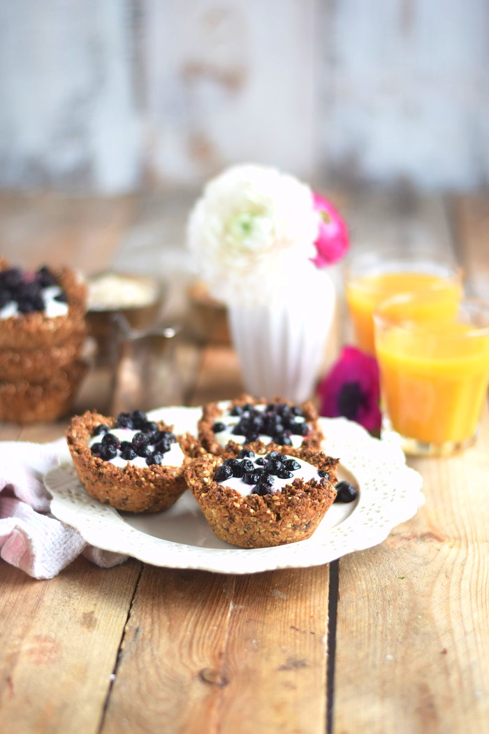 Granola Cups mit Joghurt - Granola Cups with yogurt and fruits (3)