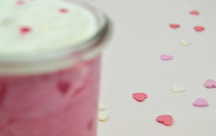 Himbeer-Kokos-Smoothie