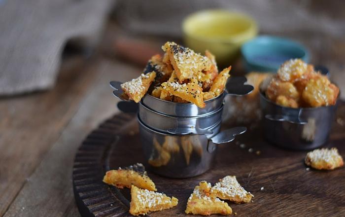 Käse-Cracker: Knusprig und schnell