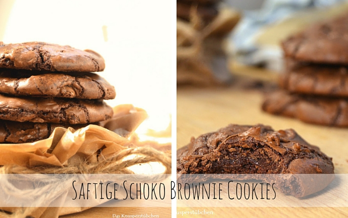 Schoko Brownie Cookies – Saftig