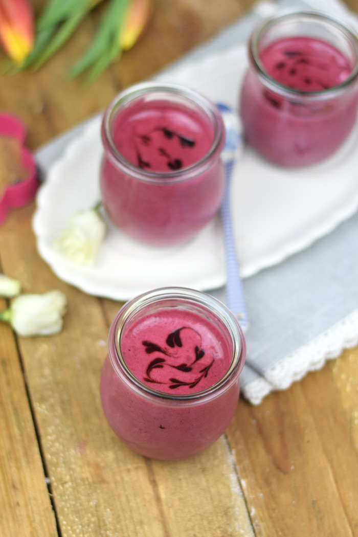 Brombeer Joghurt Mousse - Berry Yogurt Mousse (1)