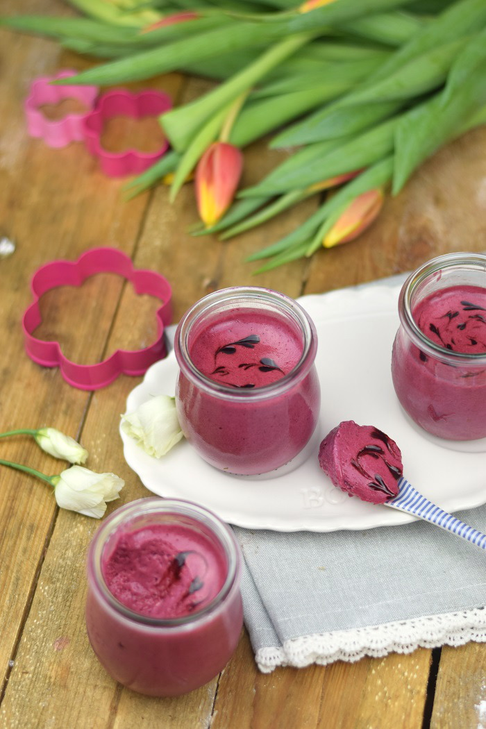 Brombeer Joghurt Mousse - Berry Yogurt Mousse (11)
