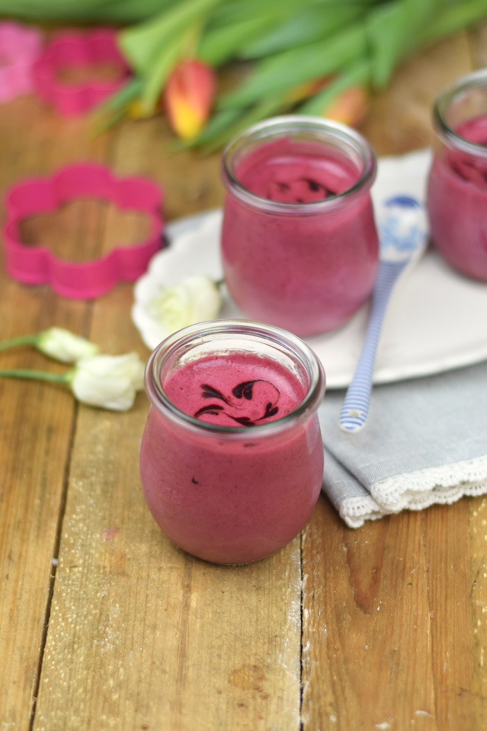 Brombeer Joghurt Mousse - Berry Yogurt Mousse (2)