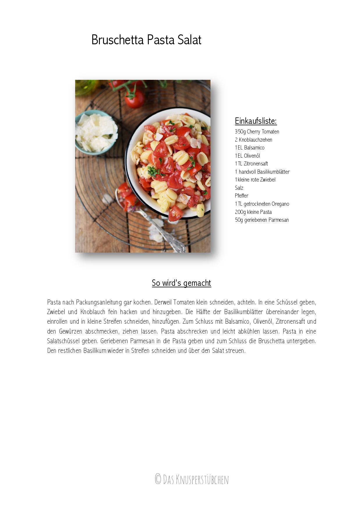 Bruschetta Pasta Salat Rezept-001