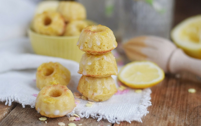 Mini Gugl mit Buttermilch & Zitrone (Limoncello)