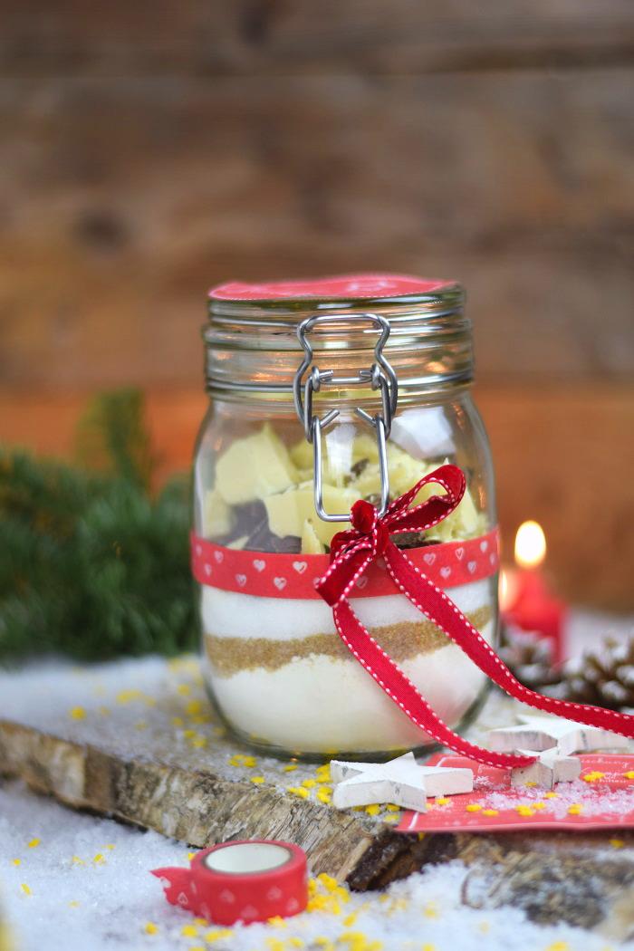 Knusprige Cookies Backmischung mit Schokolade Limette oder Erdnuss (2)