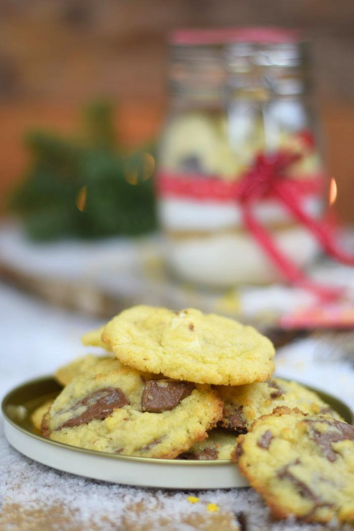Knusprige Cookies Backmischung mit Schokolade Limette oder Erdnuss (4)