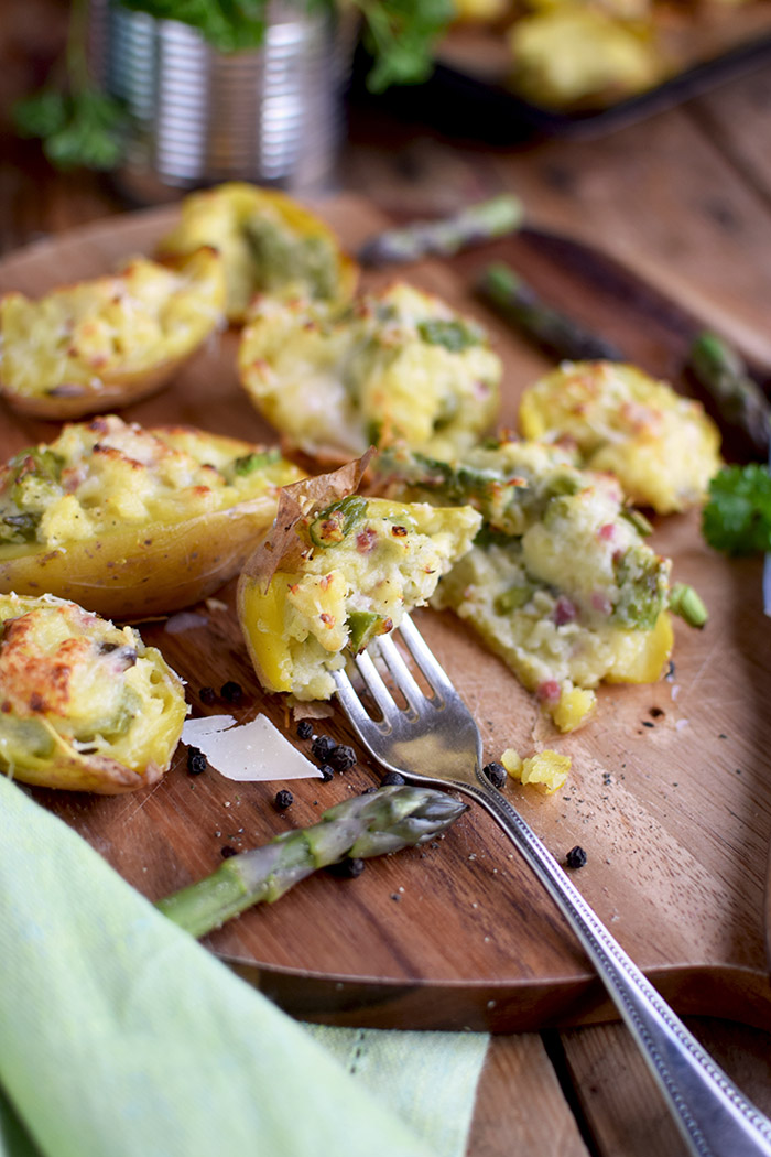 Ofenkartoffeln mit Spargel (2)