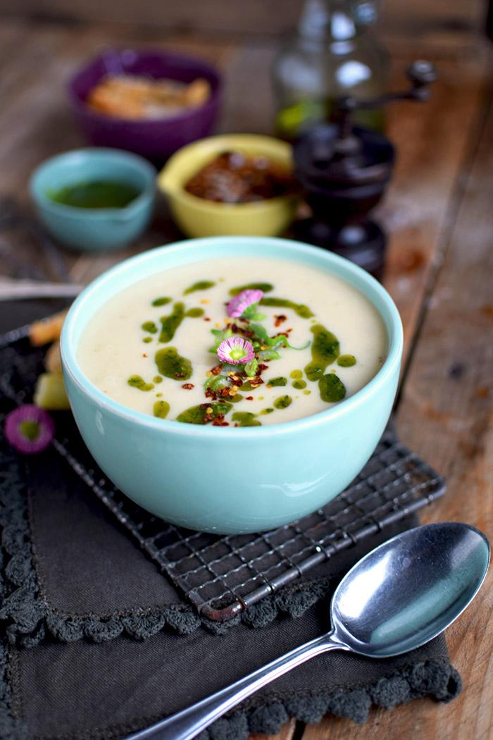 Spargelsuppe mit geheimer Zutat - Asparagus Soup (1)
