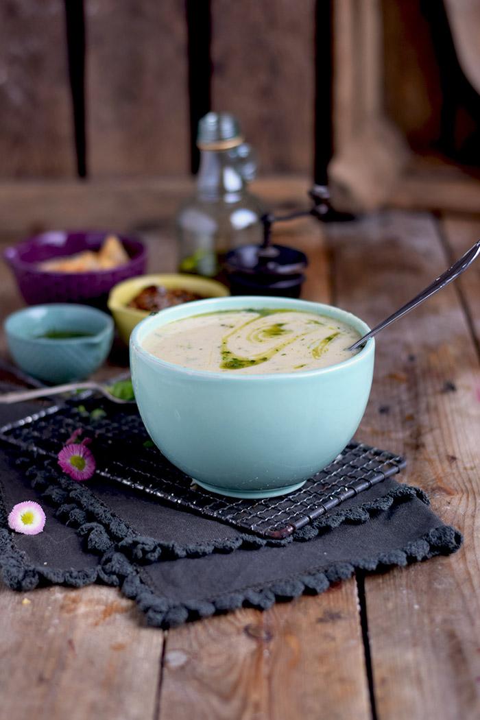 Spargelsuppe mit geheimer Zutat - Asparagus Soup (3)