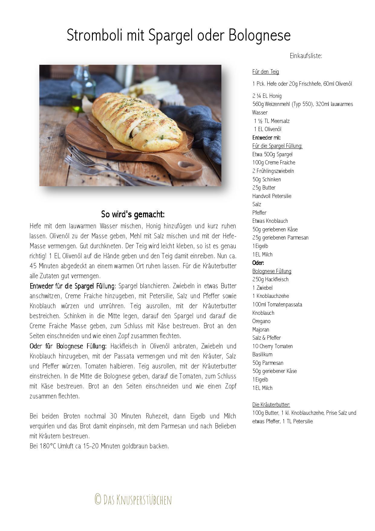 Stromboli Spargel oder Bolognese Rezept-001