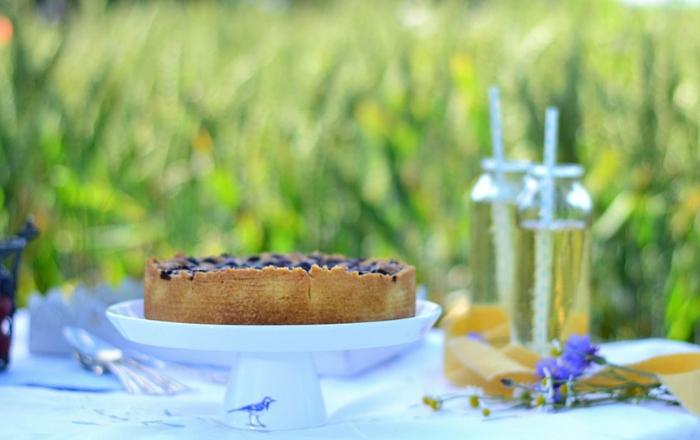 Schwedische Mazarin-Blaubeer-Tarte*