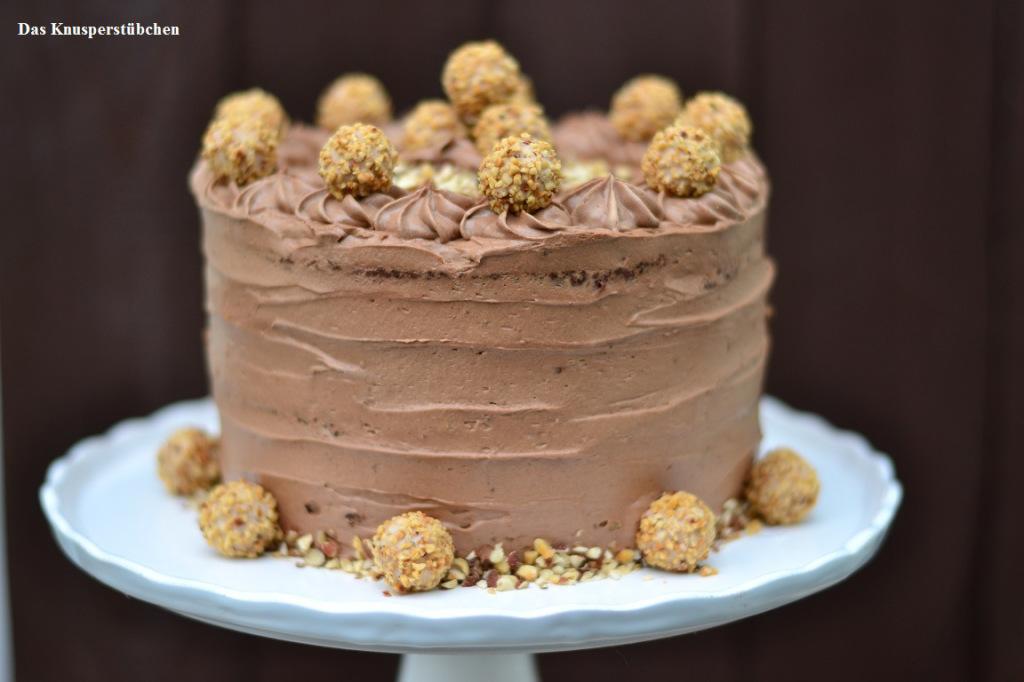 Nougat Giotto Torte Nicht Nur Fur Chocoholics Knusperstubchen