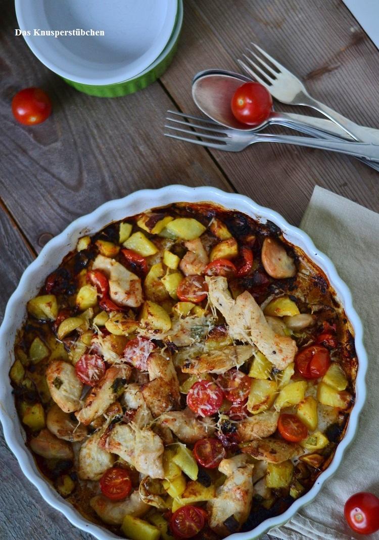 Ofen Bratkartoffeln - Baked Potatoes  1