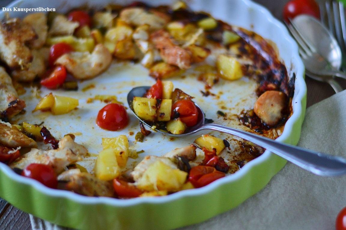 Ofen Bratkartoffeln - Baked Potatoes  (9)