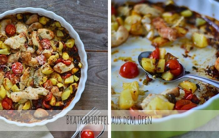 Bratkartoffel aus dem Ofen – Schnelles Wochendinner