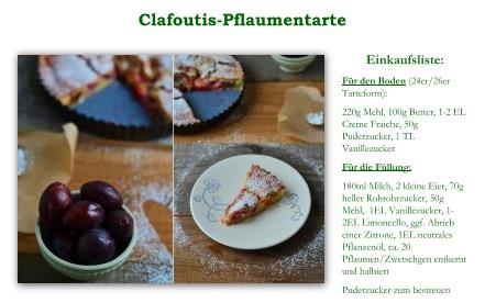 Rezept Clafoutis Tarte