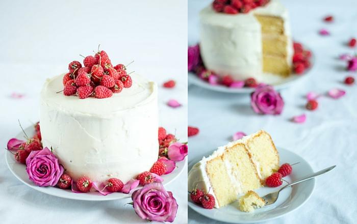 Rosewater White Cake von Herznah