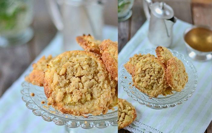 Bratapfel-Crumble-Muffin-Cookies