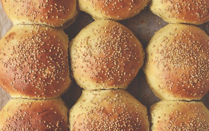 Brioche Burger Buns – Burger Brötchen
