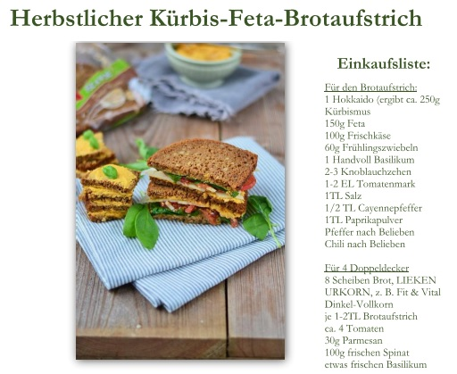 Brotaufstrich Rezept