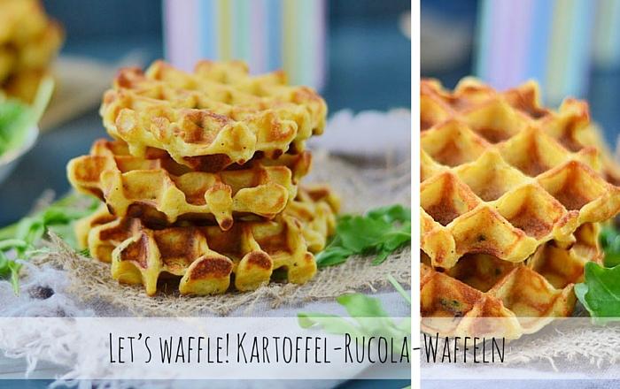 Kartoffel-Rucola-Waffeln – Let's waffle!