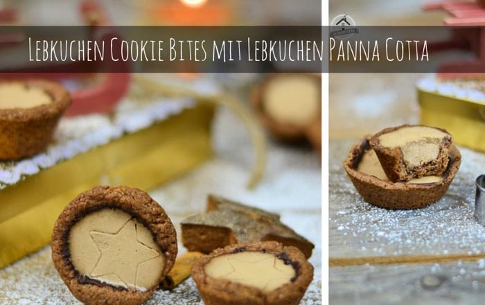 Lebkuchen Bites mit Lebkuchen Panna Cotta
