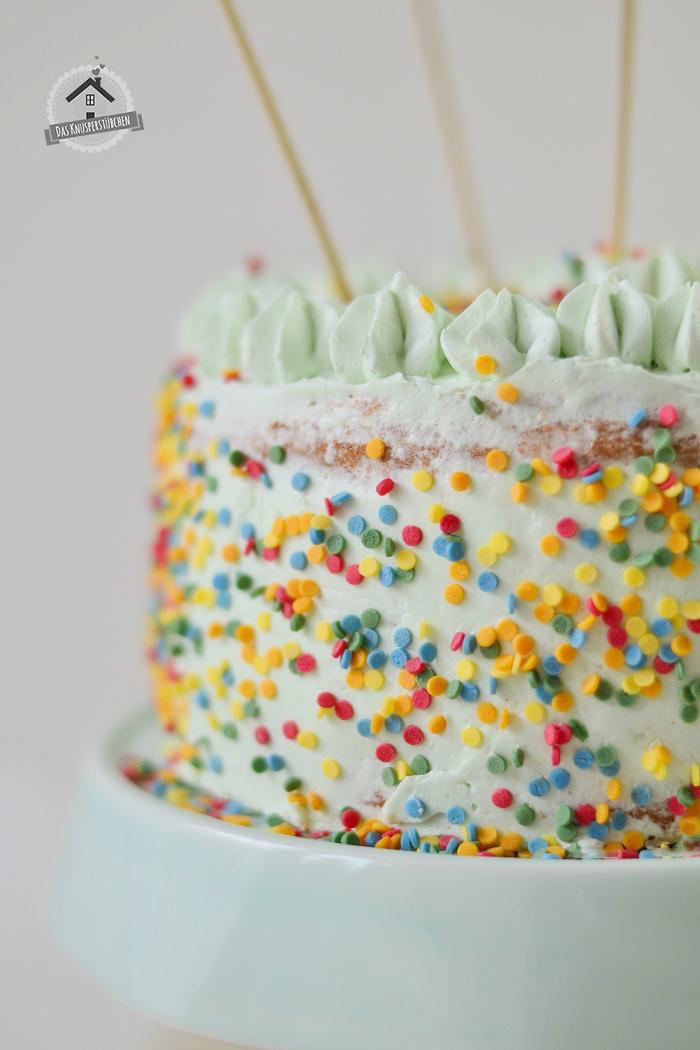 Marzipan Geburtstagstorte Luftballons  8
