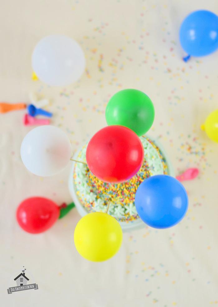 Marzipan Geburtstagstorte