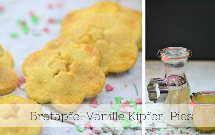 Bratapfel Vanille Kipferl Pies