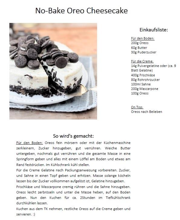 Cheesecake Rezept
