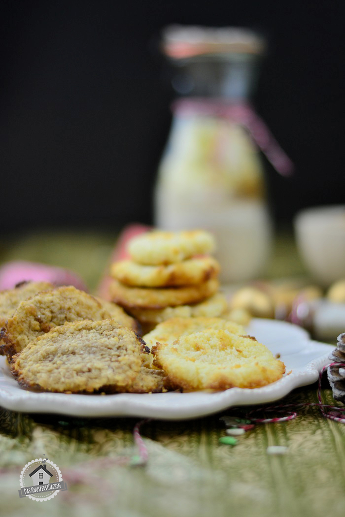 Haferflockenkekse und Kokoskekse 2