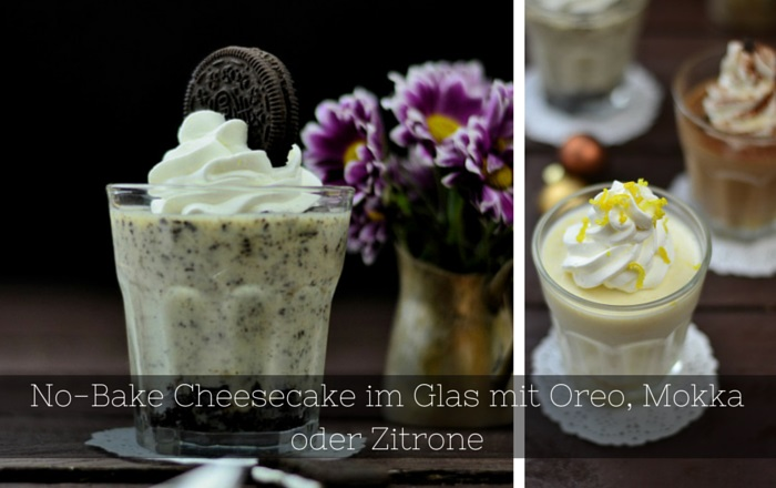 No-Bake Cheesecake im Glas