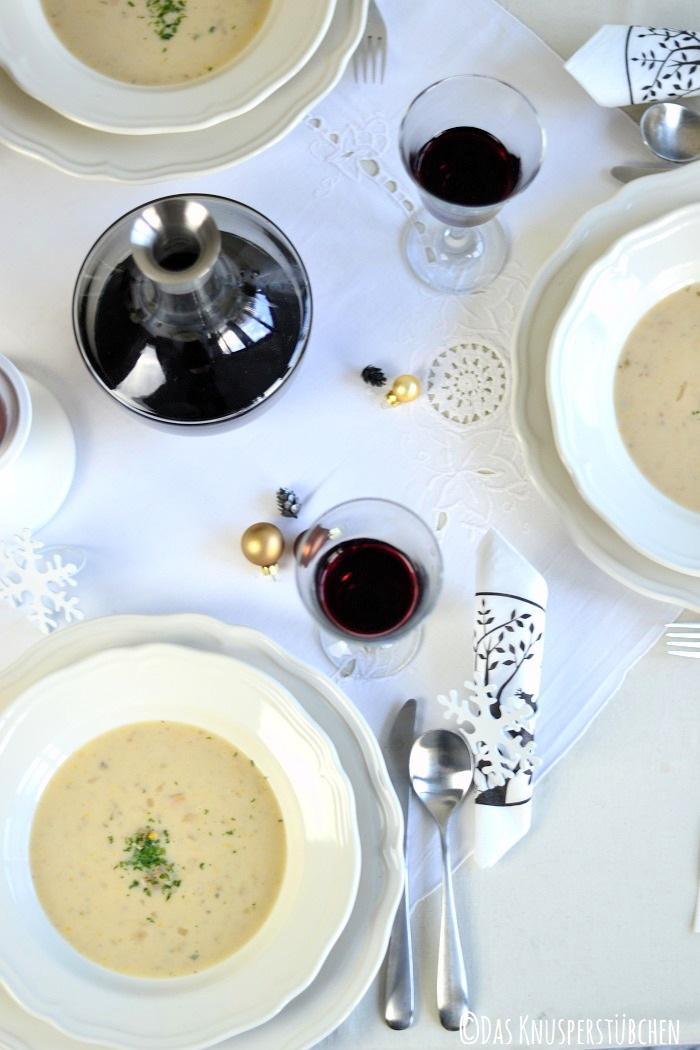 Blumenkohl Parmesan Suppe 4-2